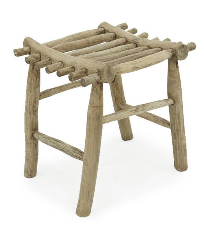 Hatz Stool Teak Branch Furniture